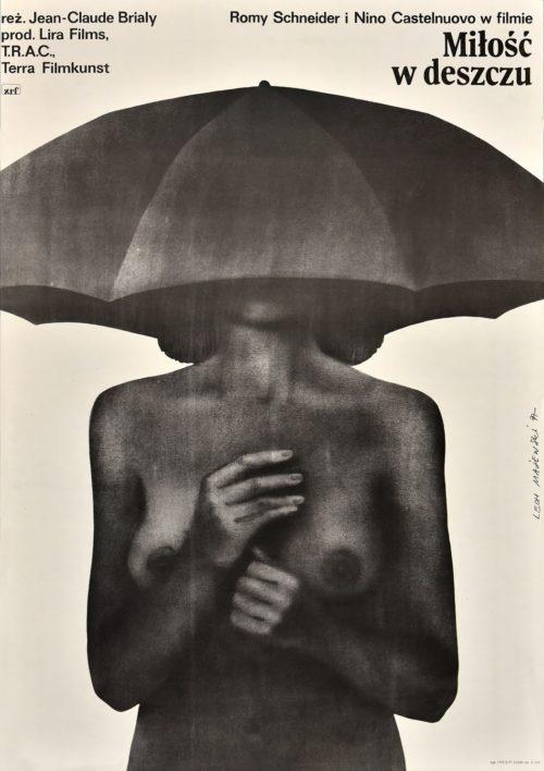 Lech Majewski: Miłość w deszczu (Sommerliebelei), 1977, Offsetdruck, Foto: Marlies Kross, © Lech Majewski