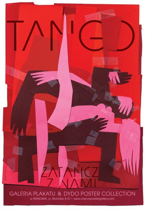 Elżbieta Chojna: TANGO II, Galeria Plakatu & Dydo Poster Collection Krakowie, 2008, Offsetdruck, Foto: Archiv BLmK, © Elżbieta Chojna