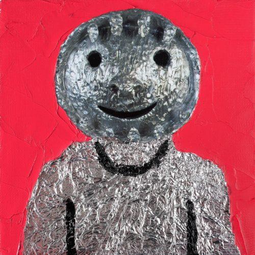 Przemek Matecki: Ugo Rondinone, unsigniert, o. J., 20 x 20 cm, courtesy Raster Gallery, © Künstler