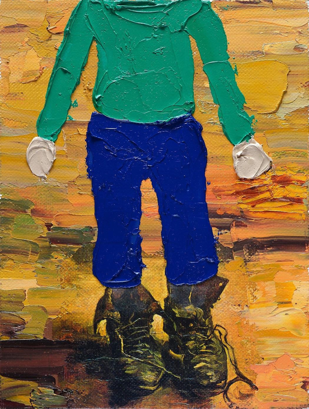 Przemek Matecki: Vincent van Gogh, unsigniert, o. J., 20 x 15 cm, courtesy Raster Gallery, © Künstler