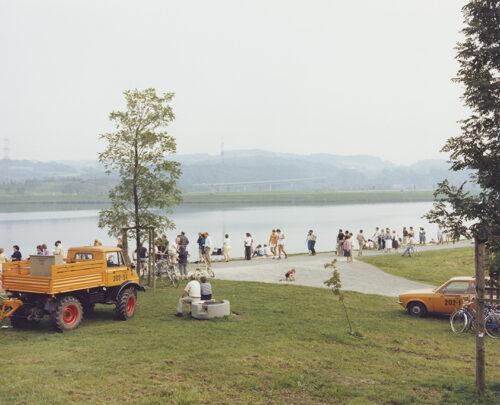 "Joachim Brohm, Aus der Serie ""Ruhr"": Bochum 1982, 1982, Analoger C-Print © VG Bild-Kunst, Bonn 2021"